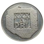 srebrna moneta xxx lat PRL