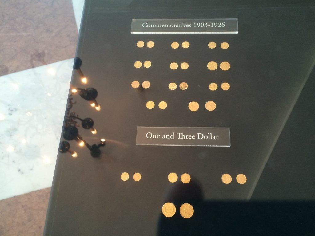 Kolekcja złotych monet amerykańskich
