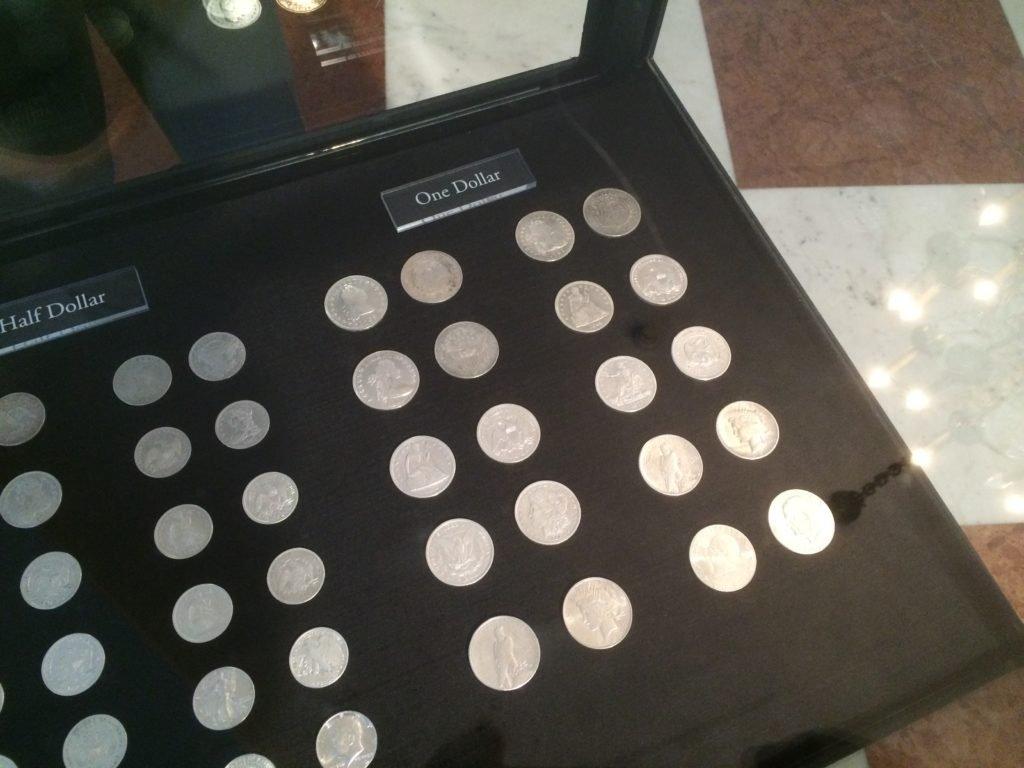 Kolekcja srebrnych monet amerykańskich - ciąg dalszy