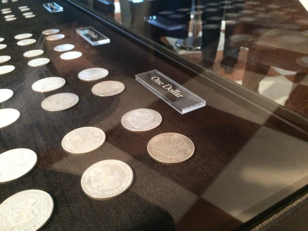 Kolekcja srebrnych monet amerykańskich