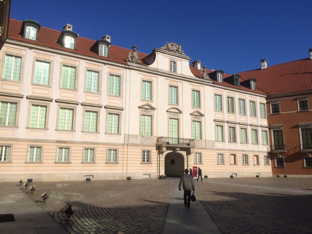 Dziedziniec Zamku Królewskiego - wejście