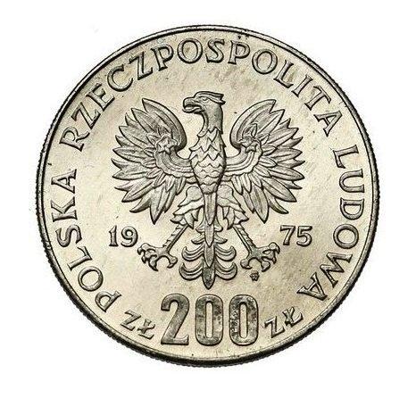 1975 200 zł XXX rocznica zwycięstwa nad faszyzmem - tył