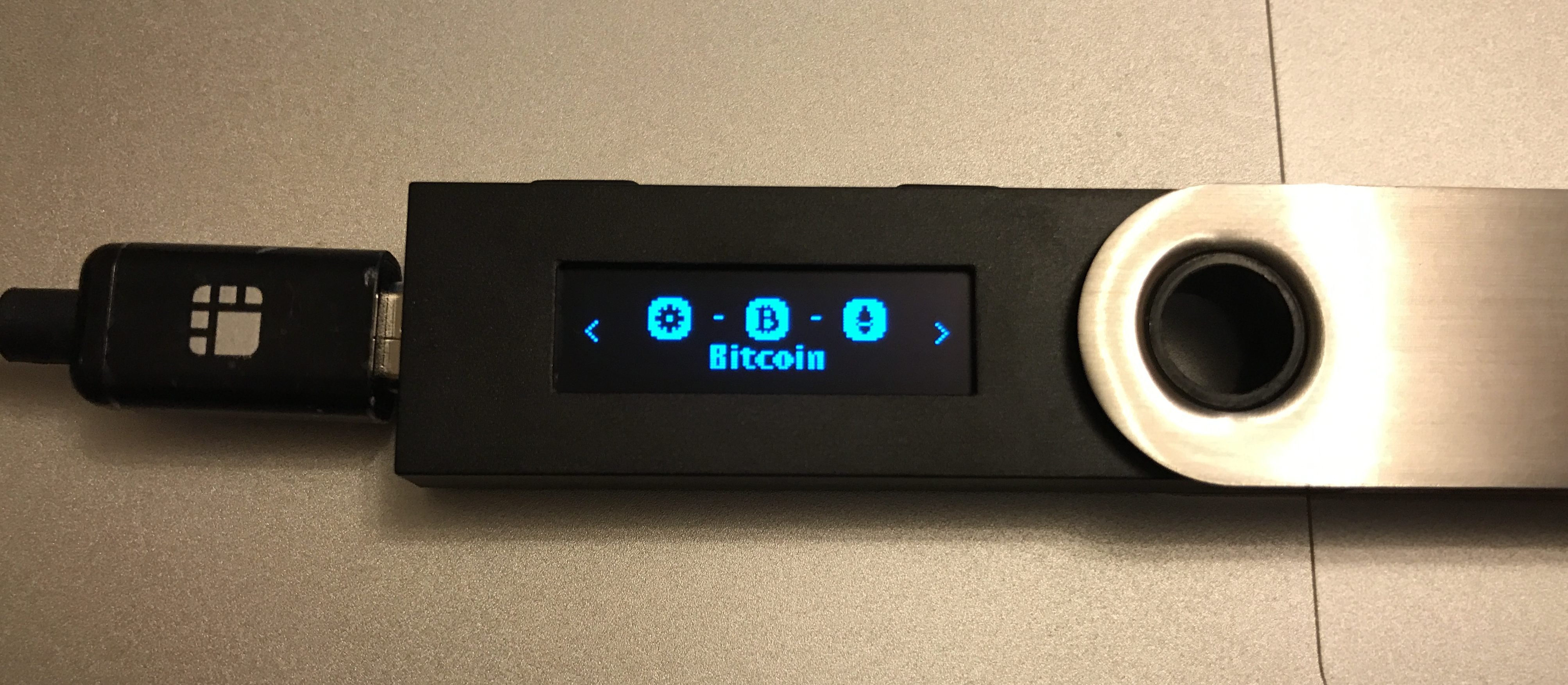 Ledger Nano S - Bitcoin