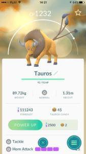 Tauros - pokemon dostępny tylko w USA