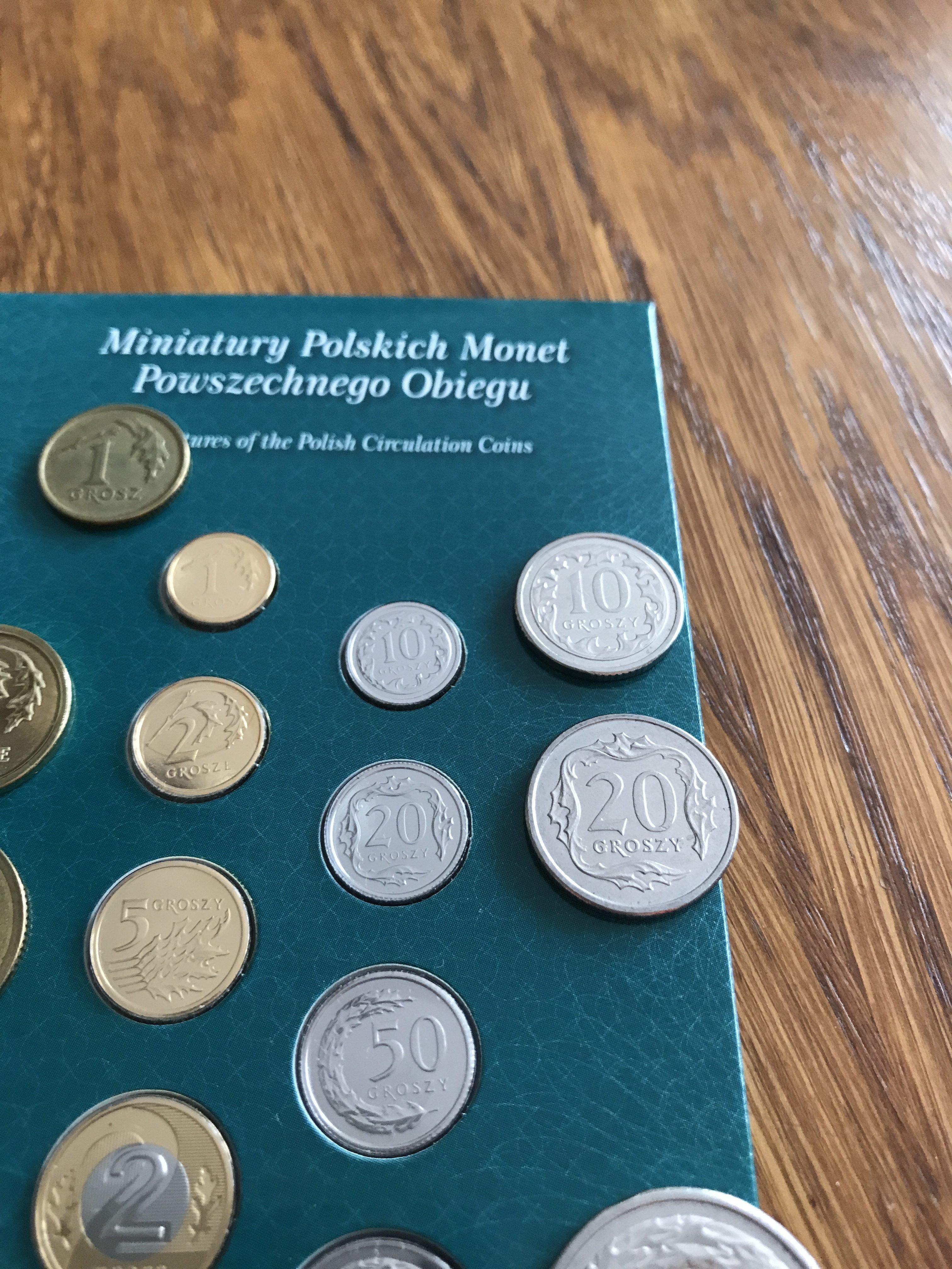 Miniatury Monet Obiegowych