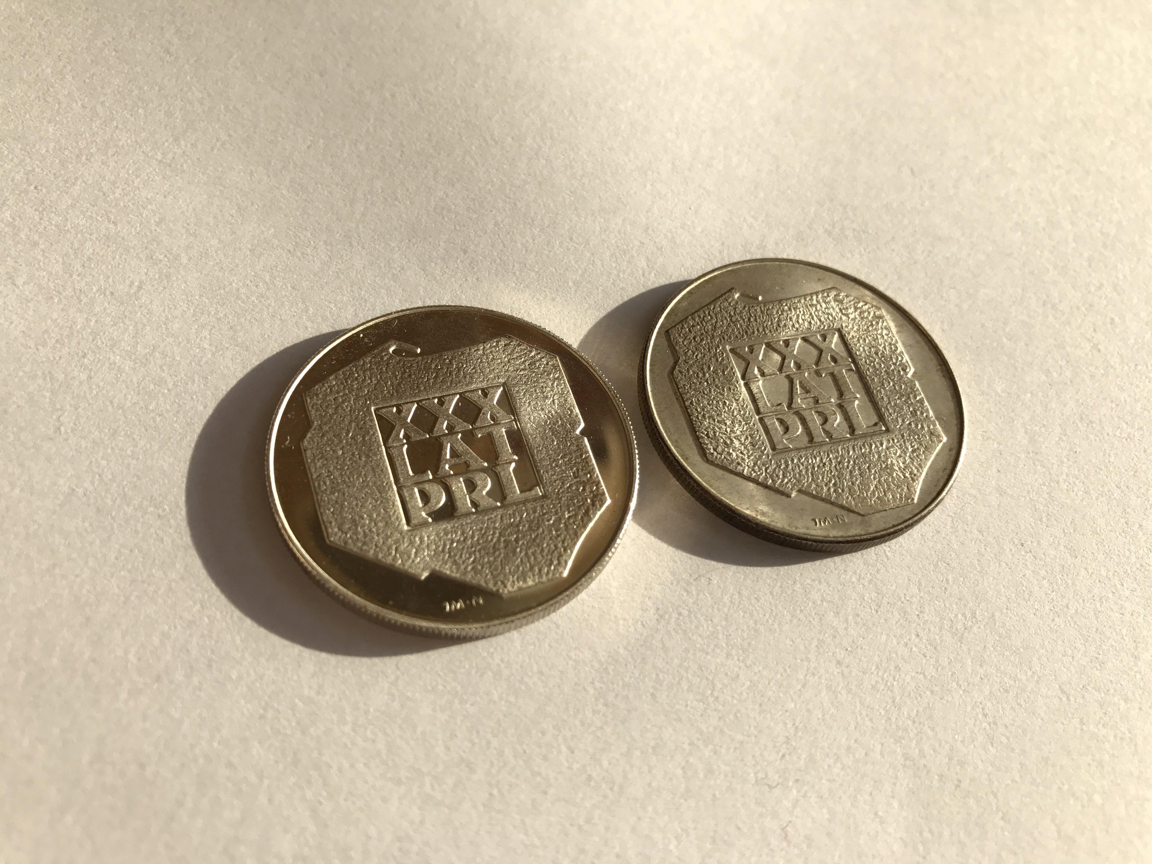 XXX lat prl moneta