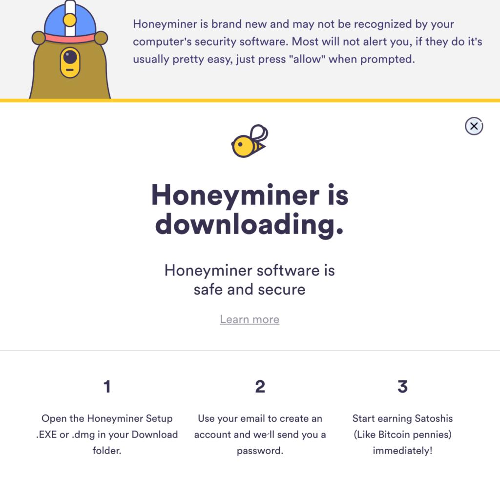 Ściągnij aplikację Honeyminer