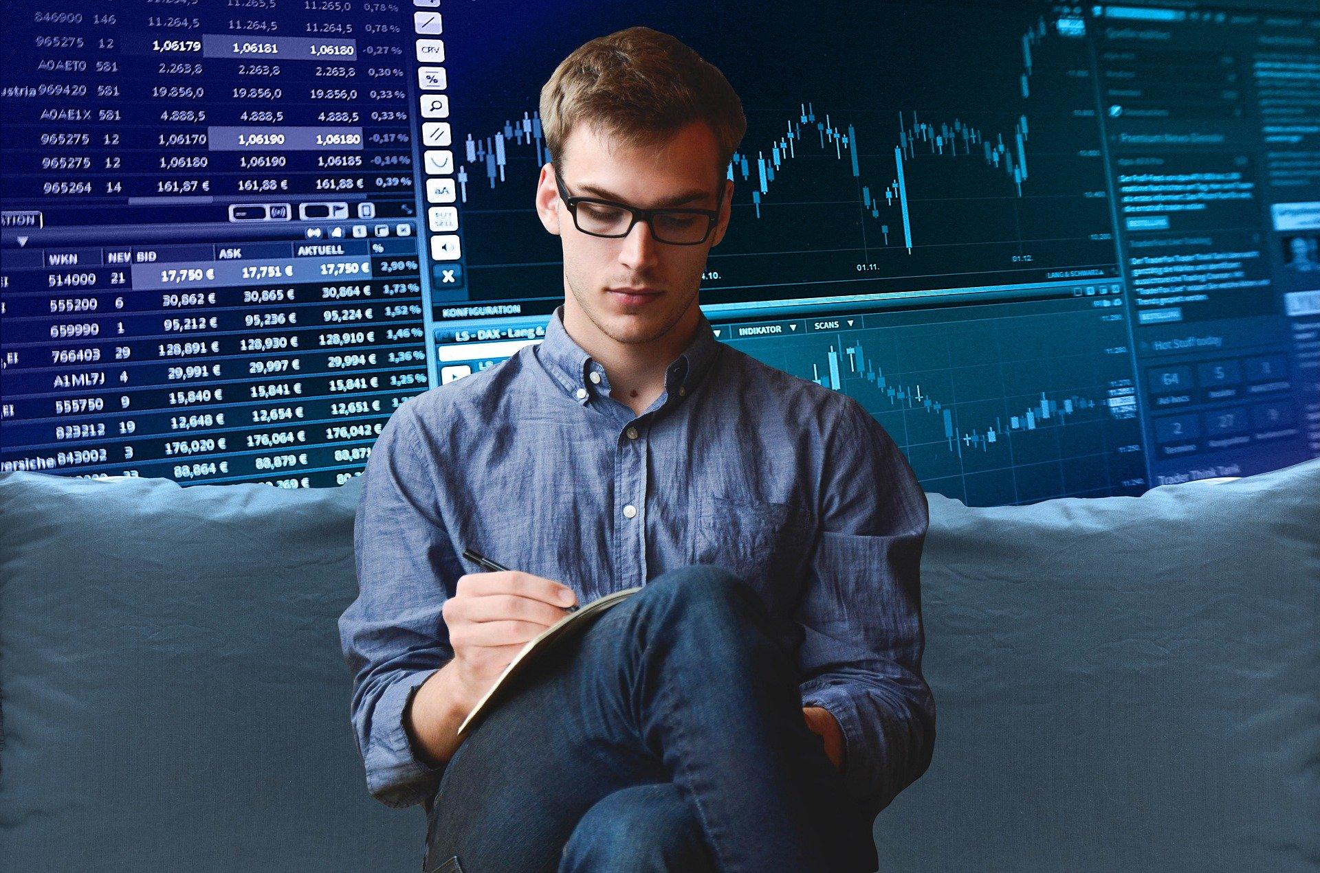 trader giełda kryptowalut