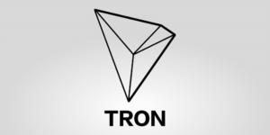 Kryptowaluta Tron logo