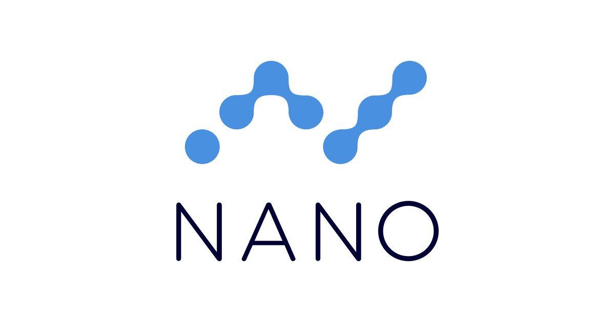 Kryptowaluta Nano logo