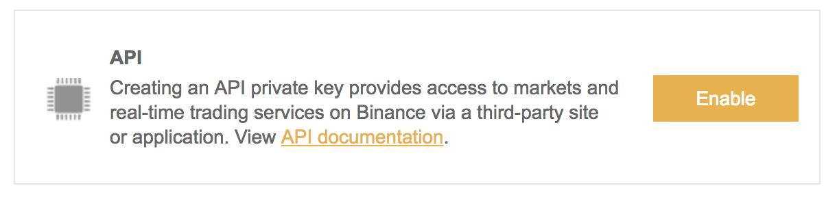 Aktywuj API na giełdzie kryptowalut Binance i włącz automatyczny trading za pomocą botów lub innych usług w chmurze.