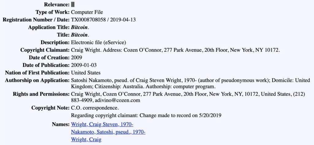 Czy Craig Wright to rzeczywiście Satoshi Nakamoto?
