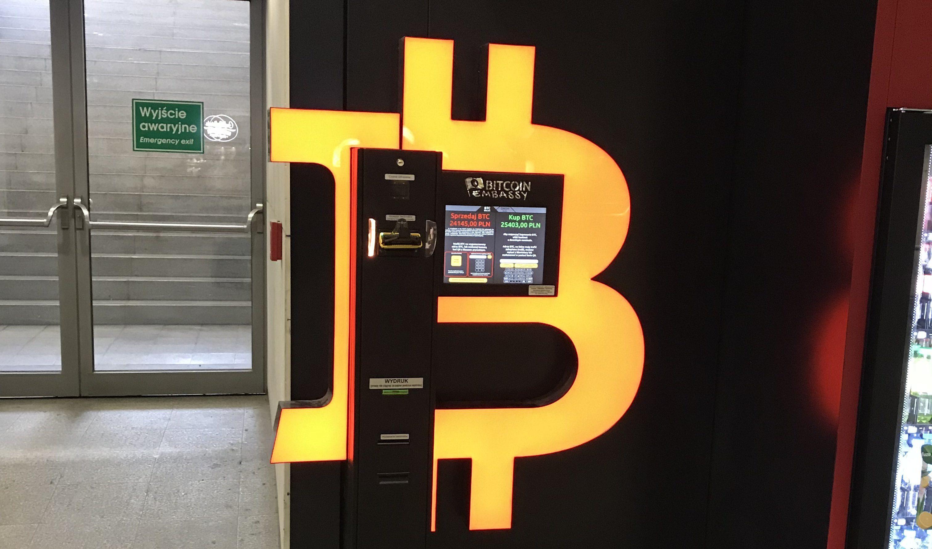 Bankomaty Bitcoin są usługą wymiany kryptowalut na gotówkę i gotówki na bitcoiny