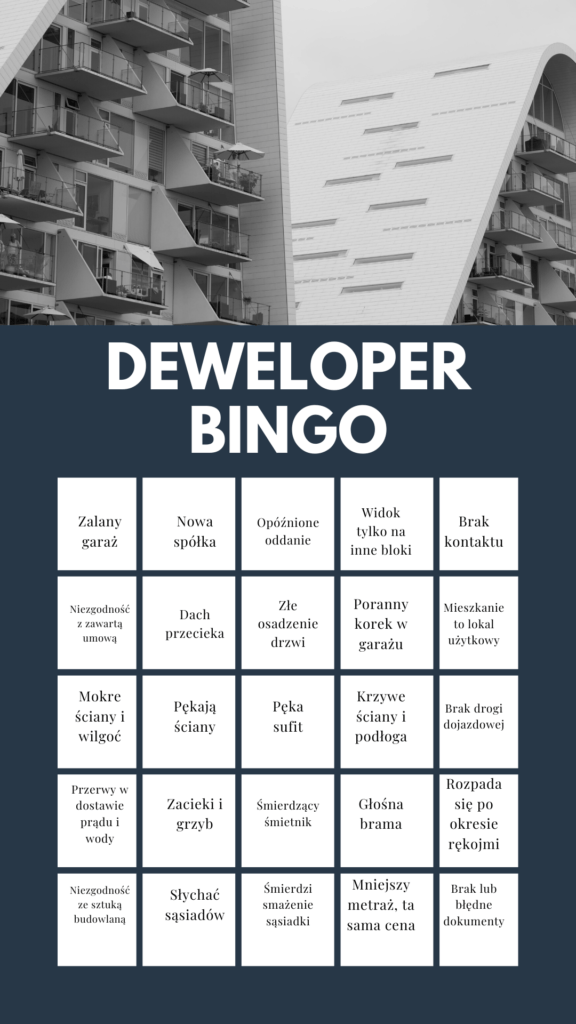 Deweloper Bingo